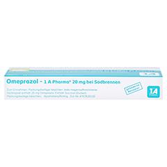 Omeprazol-1A Pharma 20mg bei Sodbrennen 14 Stück - Oberseite