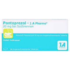 Pantoprazol-1A Pharma 20mg bei Sodbrennen 14 Stück - Vorderseite