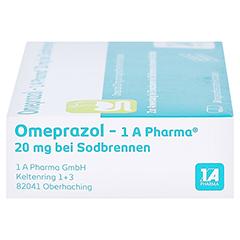 Omeprazol-1A Pharma 20mg bei Sodbrennen 14 Stück - Rechte Seite