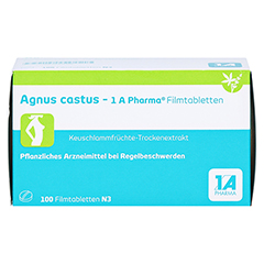 Agnus castus-1A Pharma 100 Stück N3 - Vorderseite