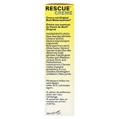 BACH ORIGINAL Rescue Creme 50 Milliliter - Rechte Seite