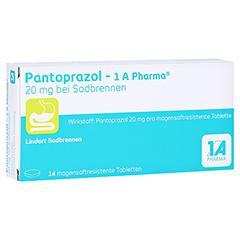 Pantoprazol-1A Pharma 20mg bei Sodbrennen 14 Stück