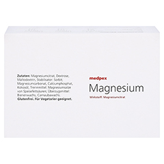 medpex Magnesium Dragees 40mg 200 Stück - Oberseite