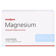 medpex Magnesium Dragees 40mg 200 Stück - Vorderseite