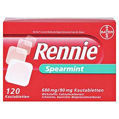 Rennie Spearmint 120 Stück - Oberseite