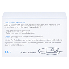 viliv a - anti glycation moisturiser 50 Milliliter - Rückseite