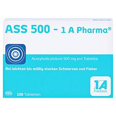 ASS 500-1A Pharma 100 Stück - Vorderseite