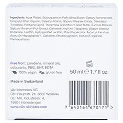 viliv r - ultra nourishing moisturizer 50 Milliliter - Unterseite