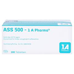 ASS 500-1A Pharma 100 Stück - Unterseite