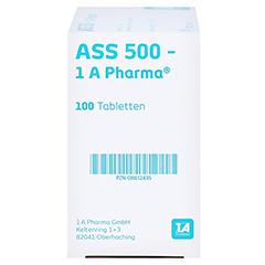 ASS 500-1A Pharma 100 Stück - Rechte Seite