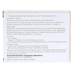 Antistax extra Venentabletten 60 Stück - Rückseite