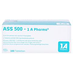 ASS 500-1A Pharma 100 Stück - Oberseite