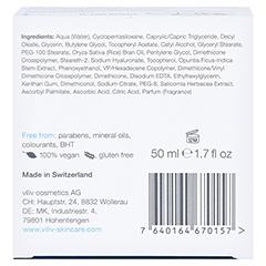 viliv h - gentle hyaluronic moisturiser 50 Milliliter - Unterseite