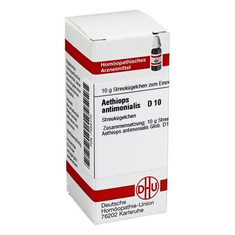 AETHIOPS ANTIMONIALIS D 10 Globuli 10 Gramm N1