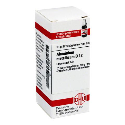 ALUMINIUM METALLICUM D 12 Globuli 10 Gramm N1
