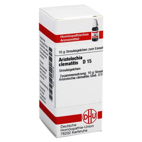 ARISTOLOCHIA CLEMATITIS D 15 Globuli 10 Gramm N1