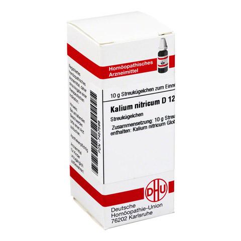 KALIUM NITRICUM D 12 Globuli 10 Gramm N1