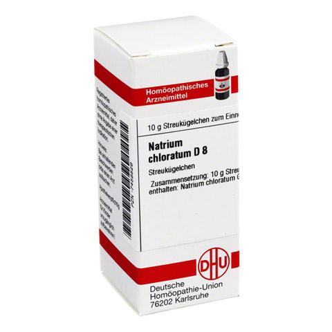NATRIUM CHLORATUM D 8 Globuli 10 Gramm N1