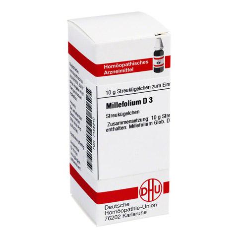 MILLEFOLIUM D 3 Globuli 10 Gramm N1