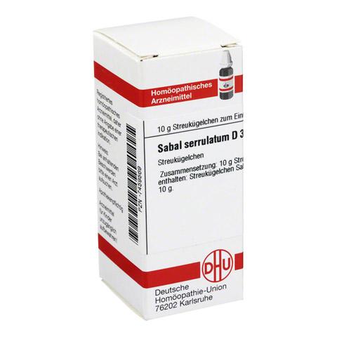 SABAL SERRULATUM D 30 Globuli 10 Gramm N1