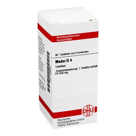 MADAR D 4 Tabletten 80 Stück N1