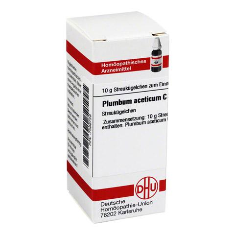 PLUMBUM ACETICUM C 30 Globuli 10 Gramm N1