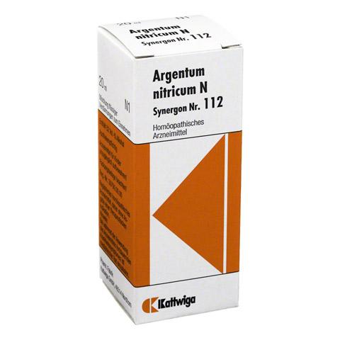 SYNERGON KOMPLEX 112 Argentum nitricum N Tropfen 20 Milliliter