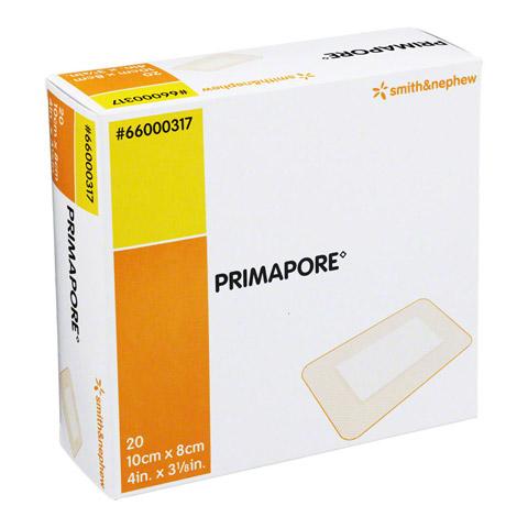PRIMAPORE 8x10 cm Wundverband steril 20 Stück