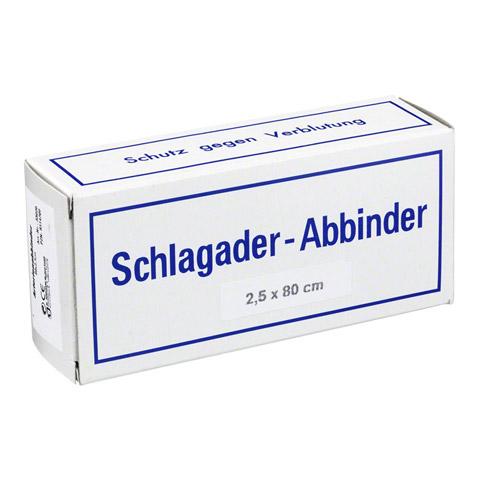 ARTERIENABBINDER 2,5x80 cm 1 Stück