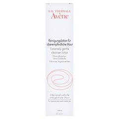 AVENE Reinigungslotion f.überempfindliche Haut 200 Milliliter - Vorderseite