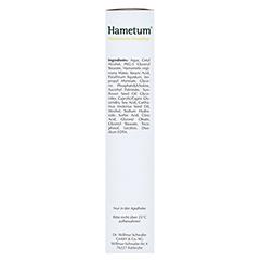 HAMETUM medizinische Hautpflege Creme 100 Gramm - Rechte Seite