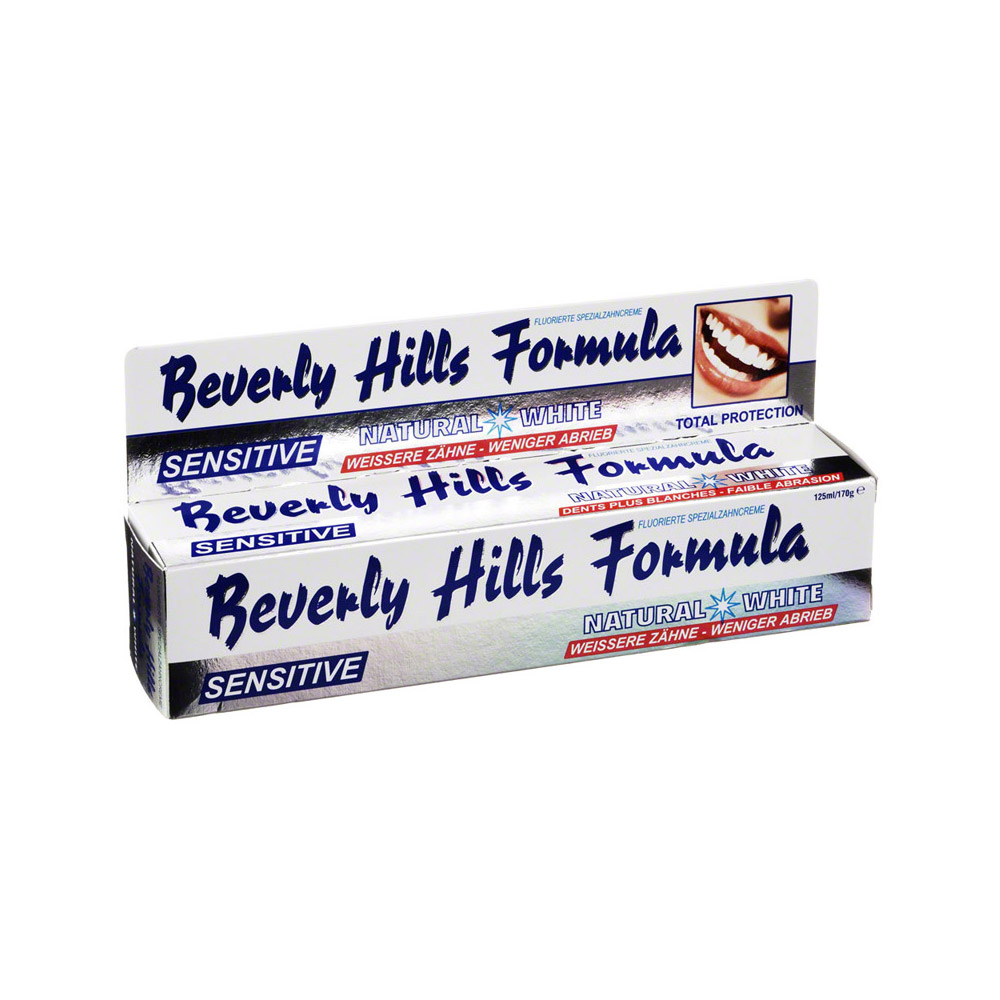 beverly hills formula sensitive zahnpasta 125 milliliter. Black Bedroom Furniture Sets. Home Design Ideas