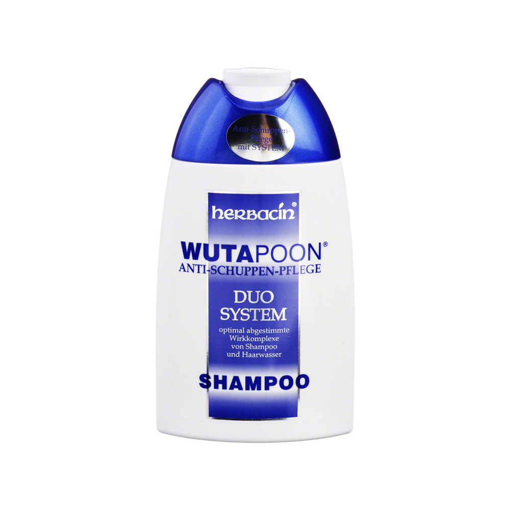wutapoon classic shampoo gegen schuppen 200 milliliter. Black Bedroom Furniture Sets. Home Design Ideas