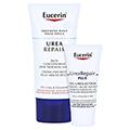 EUCERIN UreaRepair Gesichtscreme rich 5% + gratis Eucerin UreaRepair PLUS Lotion 10% (20ml) 50 Milliliter
