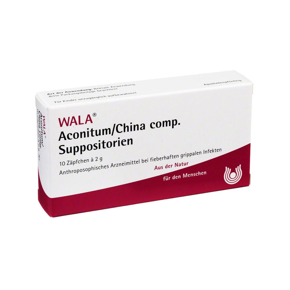 aconitum-china-comp-suppositorien-10x2-gramm, 8.49 EUR @ medpex-de