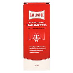 NEO Ballistol Hausmittel flüssig 50 Milliliter - Rückseite