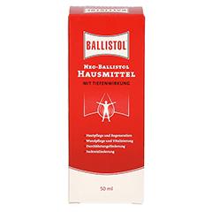 NEO Ballistol Hausmittel flüssig 50 Milliliter - Vorderseite