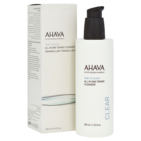 Ahava All in 1 Toning Cleanser 250 Milliliter