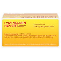 LYMPHADEN HEVERT Lymphdrüsen Tabletten 100 Stück N1 - Oberseite