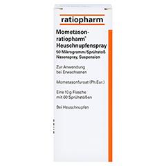 Mometason-ratiopharm Heuschnupfenspray 10 Gramm - Rückseite