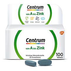 Centrum A-zink Tabletten 100 Stück