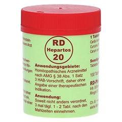 RD HEPARTOS 20 Tabletten 100 Stück