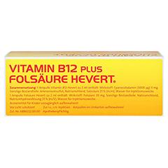 Vitamin B12 Folsäure Hevert Amp.-Paare 2x20 Stück N3 - Oberseite