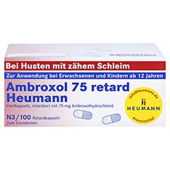 Ambroxol 75 retard Heumann 100 Stück N3 - Vorderseite