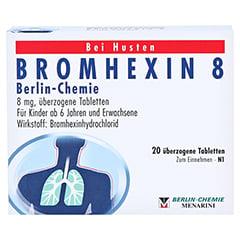 BROMHEXIN 8 Berlin-Chemie 20 Stück N1 - Vorderseite