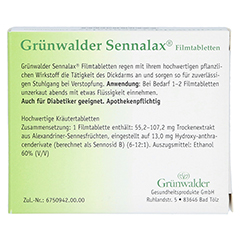 Grünwalder Sennalax 30 Stück - Rückseite