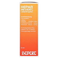 HEPAR HEVERT Lebertropfen 50 Milliliter N1 - Rechte Seite