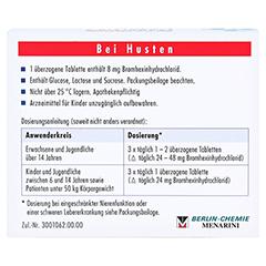 BROMHEXIN 8 Berlin-Chemie 20 Stück N1 - Rückseite