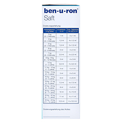Ben-u-ron Saft 100 Milliliter N1 - Linke Seite