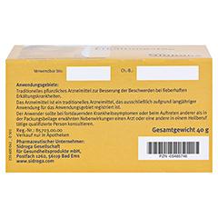 SIDROGA Erkältungstee Filterbeutel 20x2.0 Gramm - Unterseite